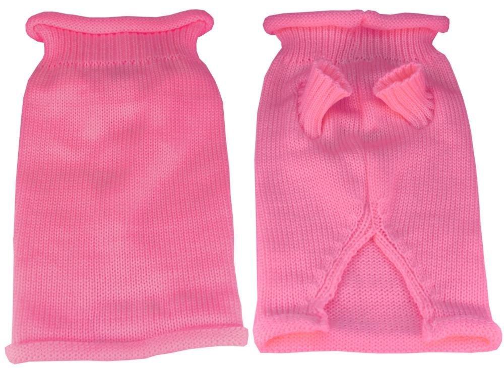 design unico Mirage Pet Products Plain Knit Pet Maglione, XS, rosa rosa rosa  ordina ora goditi un grande sconto