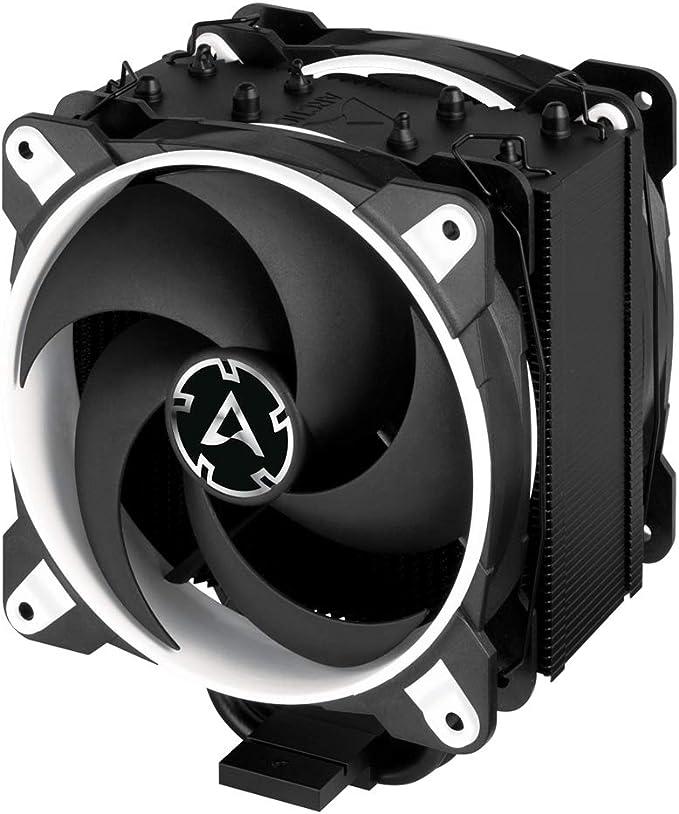 ARCTIC Freezer 34 eSports DUO - Ventola de CPU, Enfriador de CPU Push-Pull, Motor Silencioso, Desde 200 hasta 2100 Rpm, 2 Ventiladores PWM 120mm - Blanco: Amazon.es: Informática