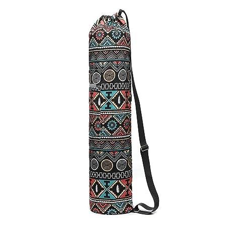 EUYOUZI Lightweight Eco Yoga Mat Bag, Large Exercise Yoga ...