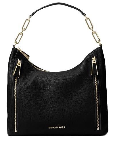181492a491d0 Michael Kors Matilda Large Leather Shoulder Bag: Handbags: Amazon.com