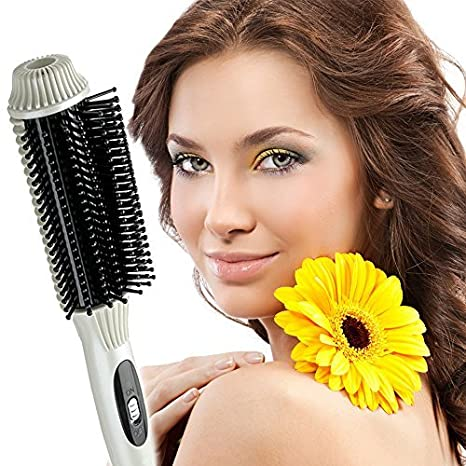 Lookout alisador de cabello pelo cabello Combo Auto Termostato volumen recto peine peine - Color blanco: Amazon.es: Bricolaje y herramientas