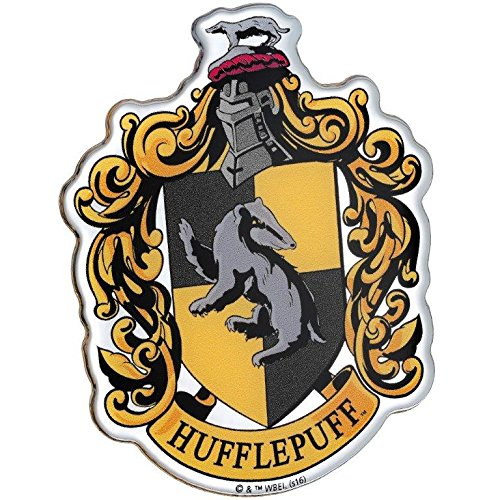 Hufflepuff Domed Car Decal (Multicolor Print, Chrome Finish) Harry Potter Crest Automotive Emblem Sticker Easily Applies to Cars, Trucks, Motorcycles, Laptops, Cellphones, Windows, Almost - Mens Australia Glasses Frames