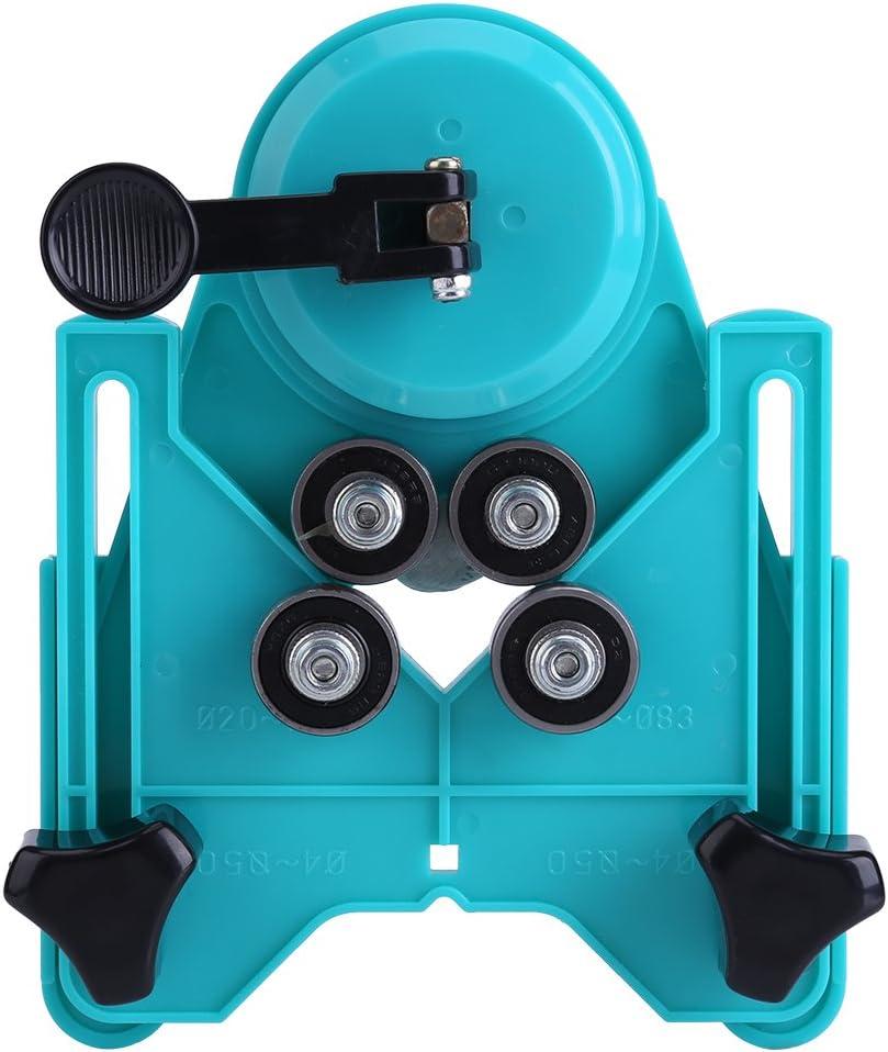 localisateur de per/çage r/églable de 4mm /à 80 mm Tr/épan de per/çage en c/éramique//verre//marbre Guide de sciage Accessoires de base pour ventouse Localisateur de trou pour carrelage Tr/épan de per/çage