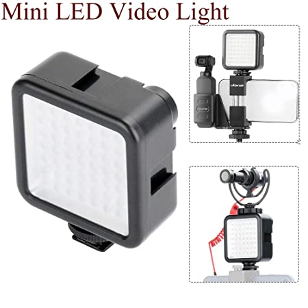 Luz de vídeo LED para cámara réflex digital, videocámara Mini DVR ...