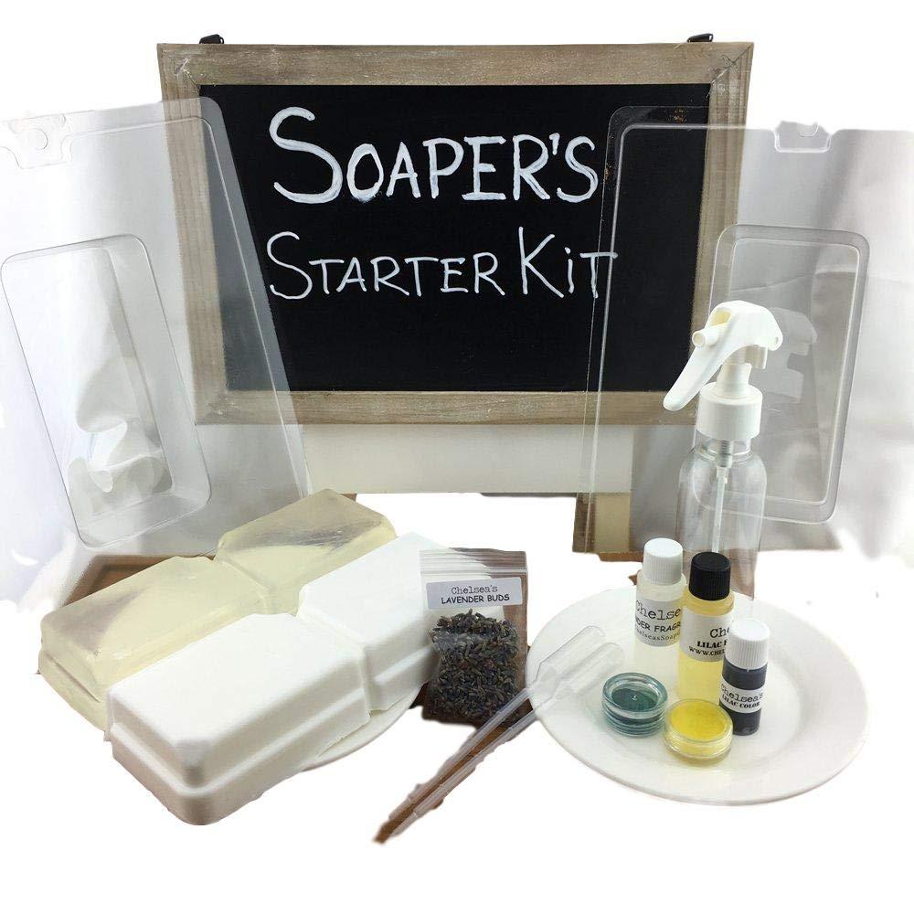 Soaper's Melt and Pour Soap Making Starter Kit