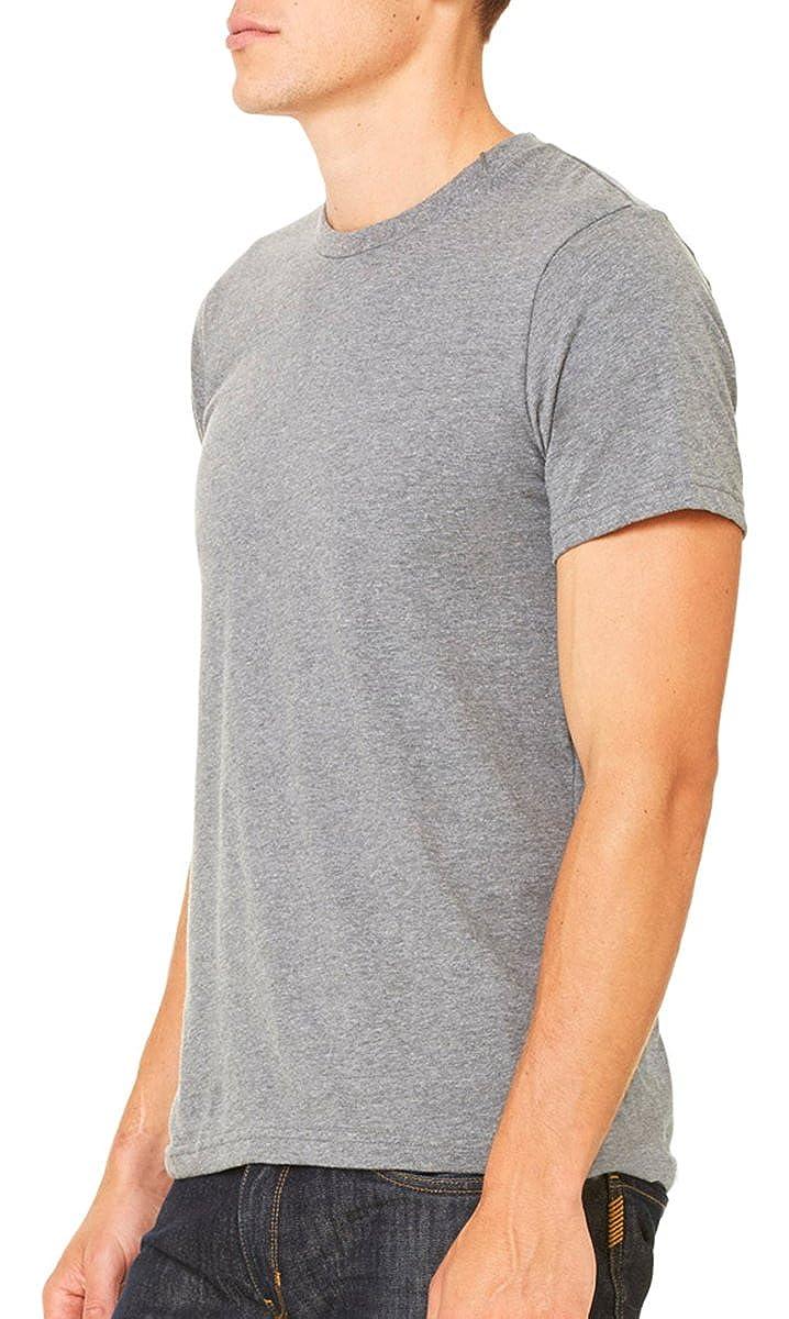 -FOREST-3XL Canvas mens Unisex Jersey Short-Sleeve T-Shirt 3001C