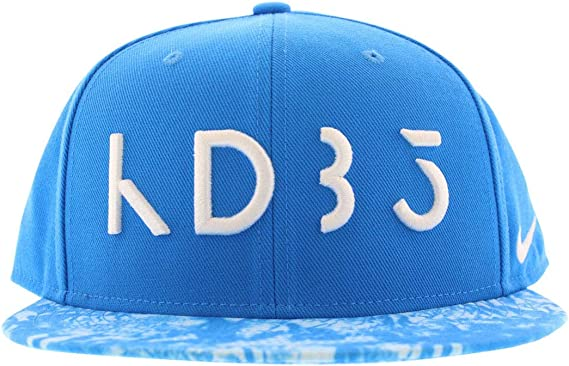déficit Rizado catalogar  Amazon.com: Nike KD Rain True Snapback Gorra Unisex Adulto Talla Única:  Clothing
