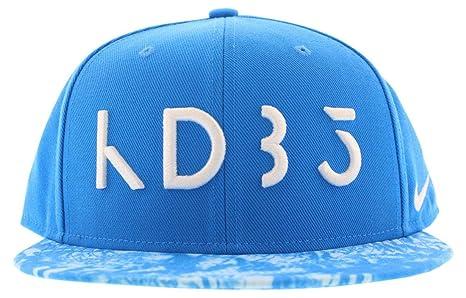 adda1ed07 Nike Mens KD Rain True Snapback Hat Cap Blue/White