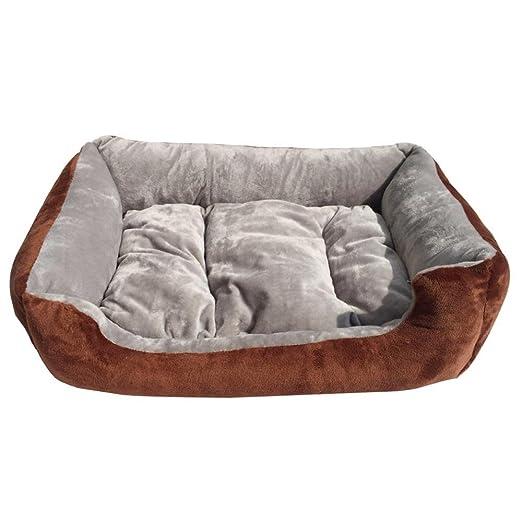 Weiwei Cama de Perro Gato de Peluche Kennel Corto Nido Mascotas camada Mat: Amazon.es: Productos para mascotas
