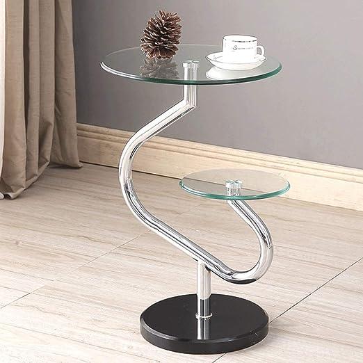 Table 87 HUO, Mesa de café Elegante Simplicity Cristal Templado ...