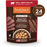 Instinct Healthy Cravings Grain Free Recipe Natural Wet Dog Food Toppers