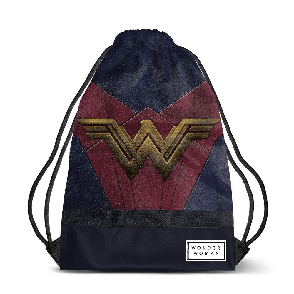 Multicolour Karactermania Wonder Woman Emblem-sacca Storm Bolsillo Suelto para Mochila 48 Centimeters