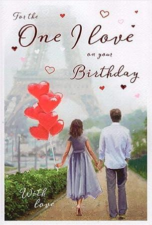 One I Love Birthday Card ICG 8939