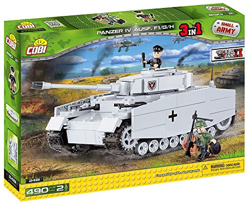 [COBI Small Army PZKPFW IV AUSF F1/G/H] (German Army Tank)