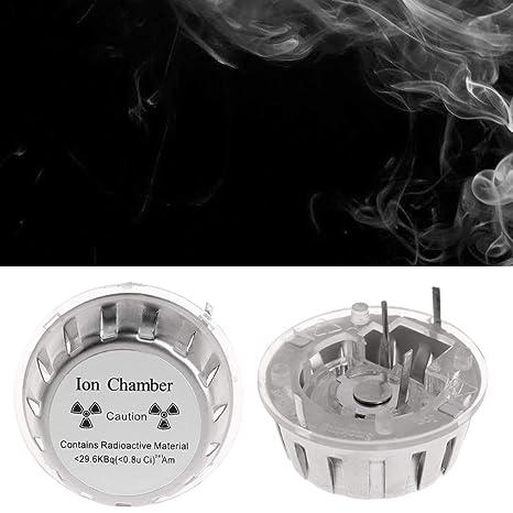 BIlinli 3051803031Ion Chamber Metal Geiger Alarma de Incendio Sistema de Seguridad Fuente Detector de Humo Sensor