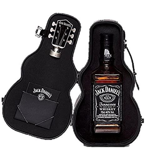 Jack Daniel's Old No.7 Guitar Case Whisky Gift Pack, 70 Cl by Jack Daniel