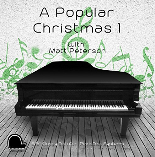A Popular Christmas 1 - PianoDisc Compatible Player Piano Music on 3.5