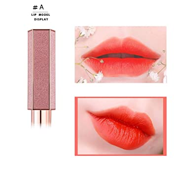Lipstick Makeup Wodwod Starry Lipstick Lipstick Long Lasting Moisturizing Beauty Beauty For Women Pink Baby Lips Beauty Makeup Brand