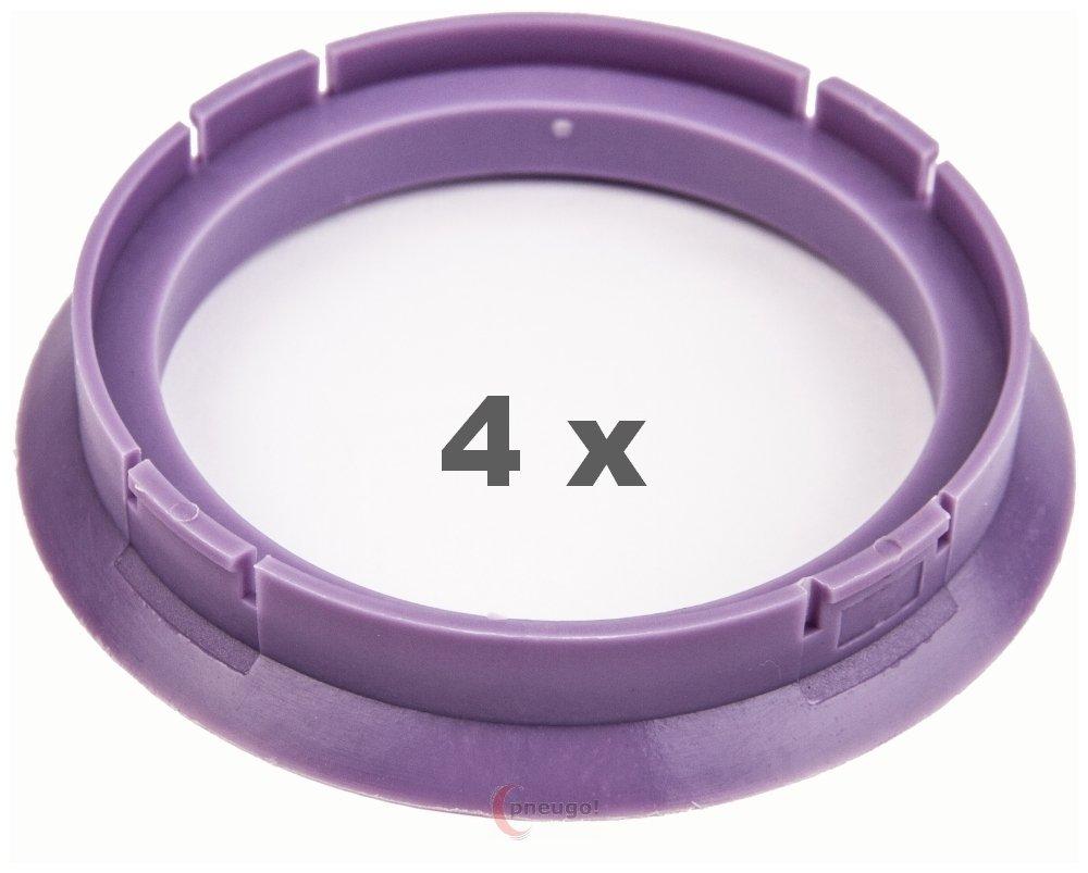 4/X Anello Di Centraggio 72.5/su 60.1/viola//Purple
