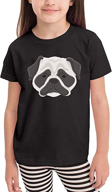Onlybabycare Dog Pug Hear 100/% Cotton Toddler Baby Boys Girls Kids Short Sleeve T Shirt Top Tee Clothes 2-6 T
