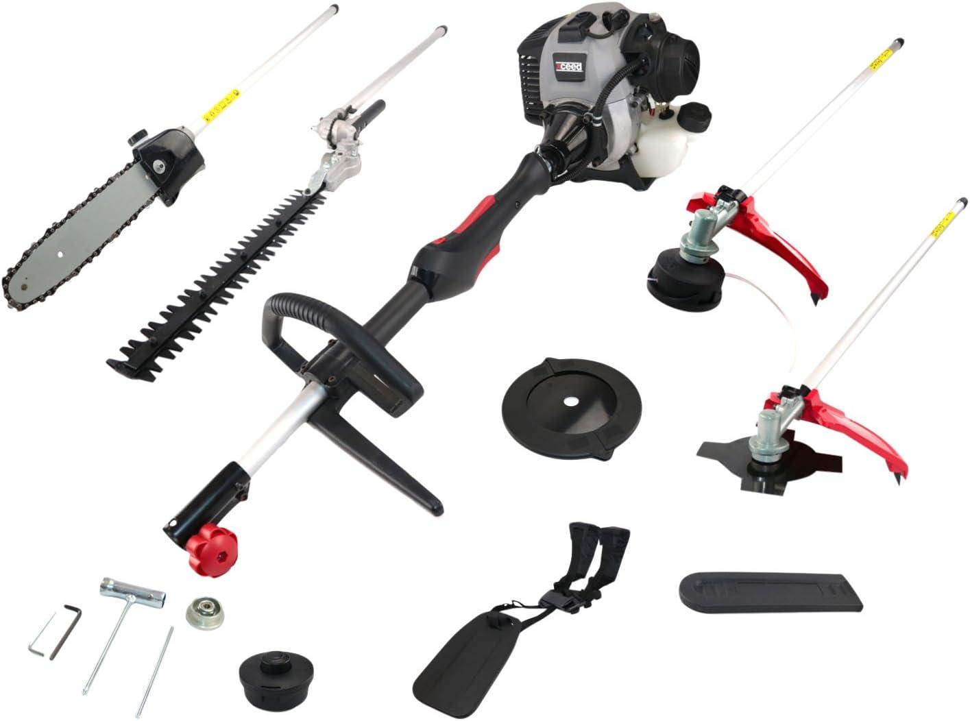 Xceed EX52BC Multiherramienta de jardín 55cc 4 en 1: cortabordes/desbrozadora/cortasetos/motosierra: Amazon.es: Bricolaje y herramientas