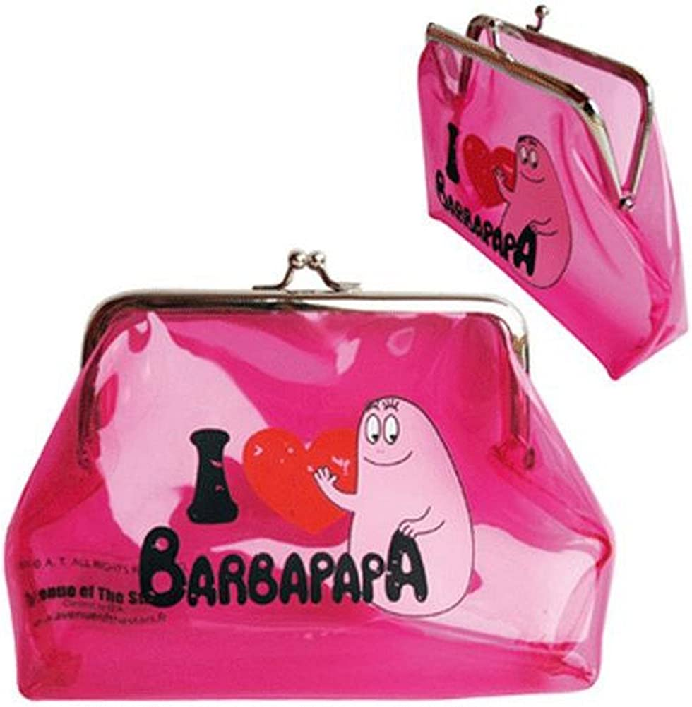 Barbapapa Barbapapa Porte-Monnaie White Blanc 11 cm