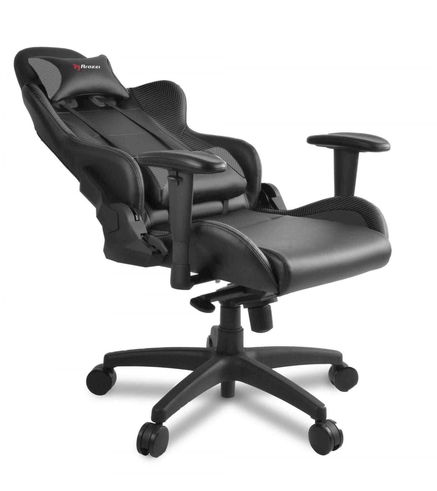 Superb Arozzi Verona Pro V2 Gaming Chair Carbon Black Edition Price Machost Co Dining Chair Design Ideas Machostcouk