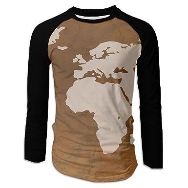 Amazon njxnsajn mans world map stirking t shirts clothing gumiabroncs Gallery