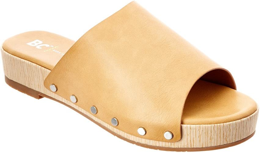 BC Footwear Womens Record Breaker Flat Sandal
