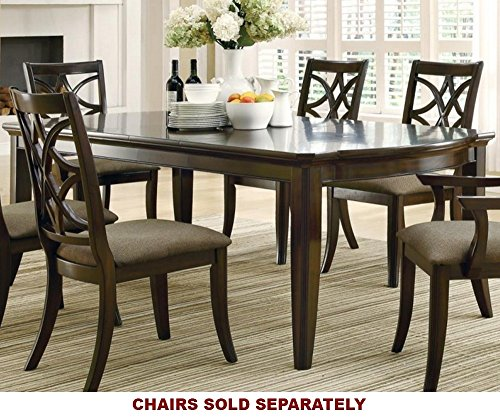 Coaster Home Furnishings Contemporary Dining Table, Espresso