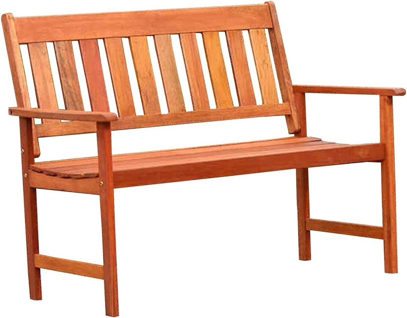 Garden Creation Jakarta Wooden Bench Solid wood Easy to assemble Perfect for relaxing