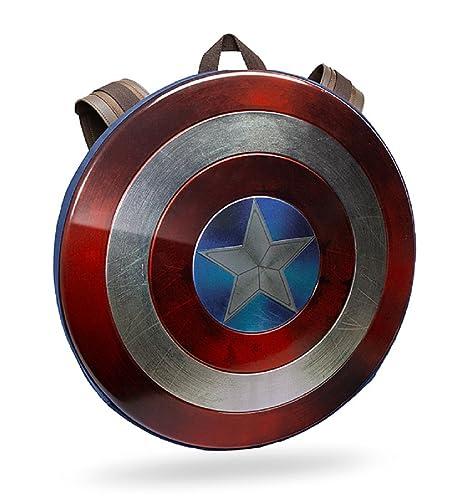キャプテンアメリカ シールド バックパック 盾 リュック リュックサック ダメージ加工 限定版 [並行輸入