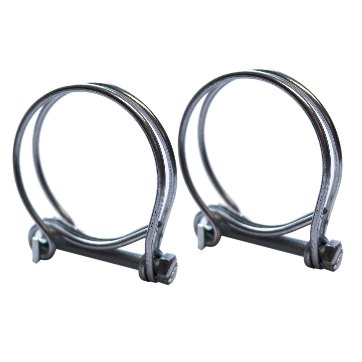Double Wire Hose Clips to fit 40mm (1.5in) Pipe Pisces