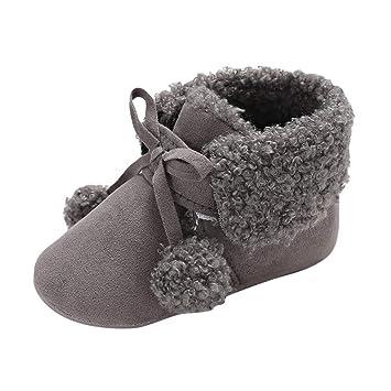 3131f616940cf Amazon.com   Winter Toddler Warm Shoes