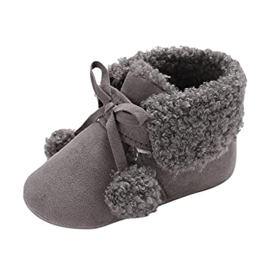 Botas de Nieve de Vendaje para bebé recién Nacido niños ...
