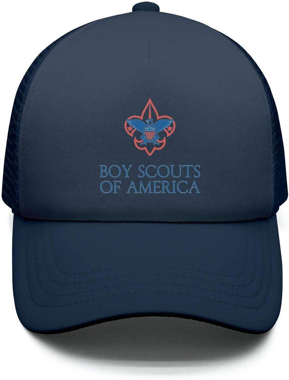 BertonMonroe Boy-Scouts-of-America wash Adjustable Baseball Caps Cute Trucker Hat