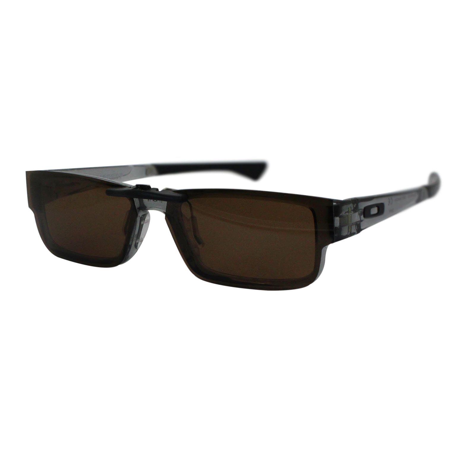 Custom Polarized Clip on Sunglasses For Oakley Airdrop 51 OX8046 51-18-143 (Brown) by oGeee (Image #5)