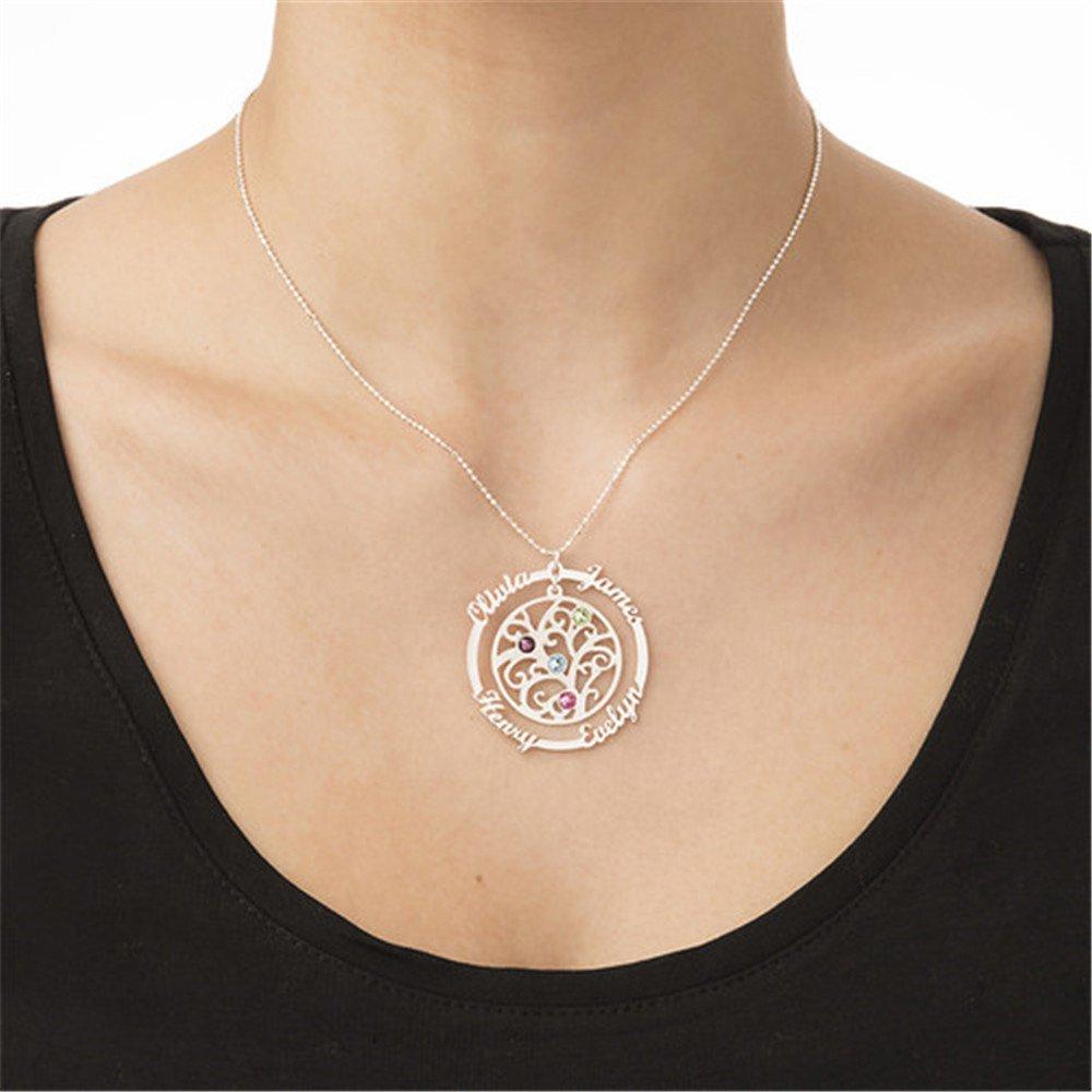 zgshnfgk Custom Name Necklace Custom Name Necklace Birthday Gift