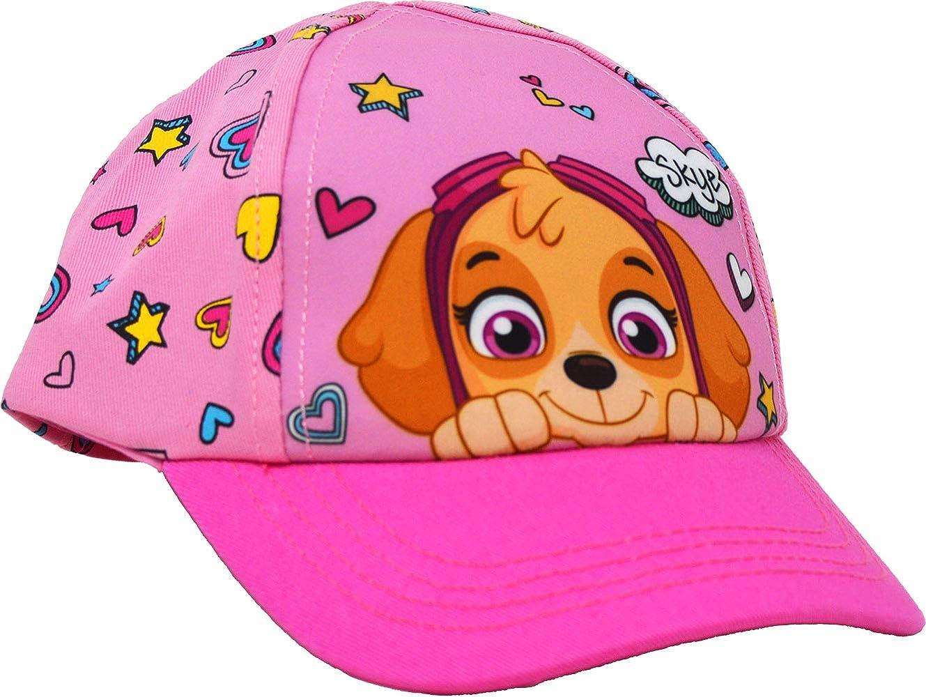 laylawson Gorra de béisbol de la Patrulla Canina para niñas Rosa ...
