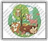 1/4 Sheet ~ Children Woodland Animals Birthday ~ Edible Image Cake/Cupcake Topper!!!