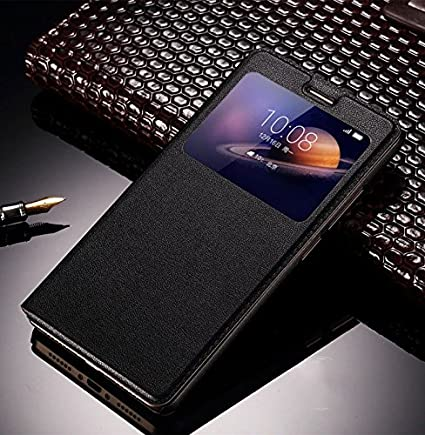 new product 121c1 3aacd Helix PU Leather Flip Cover for GIONEE F103 PRO: Amazon.in: Electronics