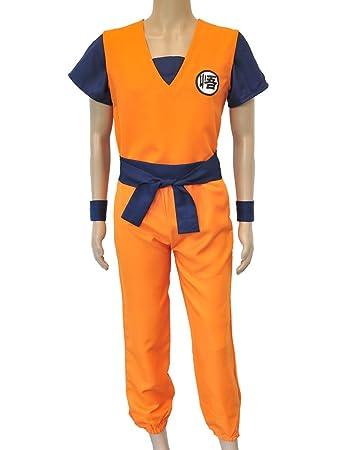 ed10b84280882 CoolChange Drachenball Son Goku Cosplay Kostüm (XS)  Amazon.de ...