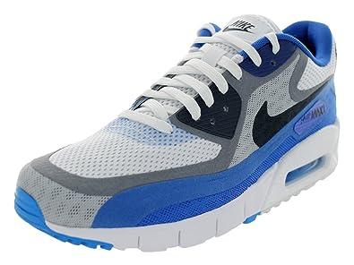 Nike Air Max 90 Breeze Schuhe white dark obsidian cool grey