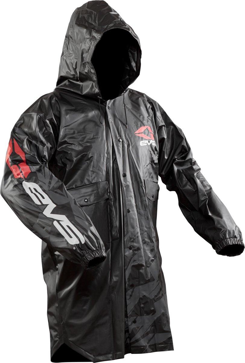 EVS Sports Unisex-Adult Rain Coat (Black, Small/Medium)