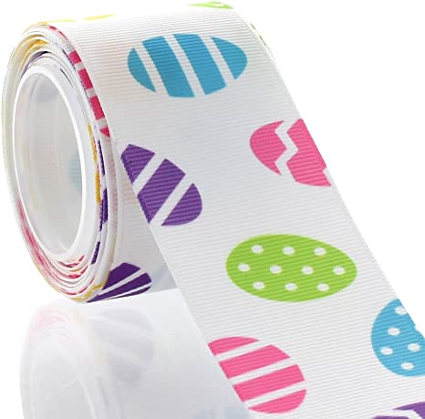 5 Yard 1/'/' Chicken flowers Printed Grosgrain Ribbon Hair Bow Sewing Ribbon