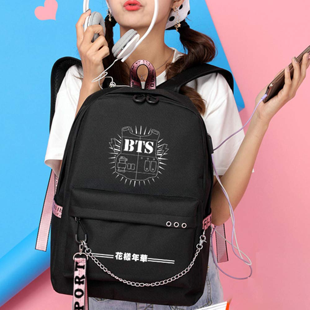 Amazon.com | BTS Casual Backpack Classic Backpack Unisex ...