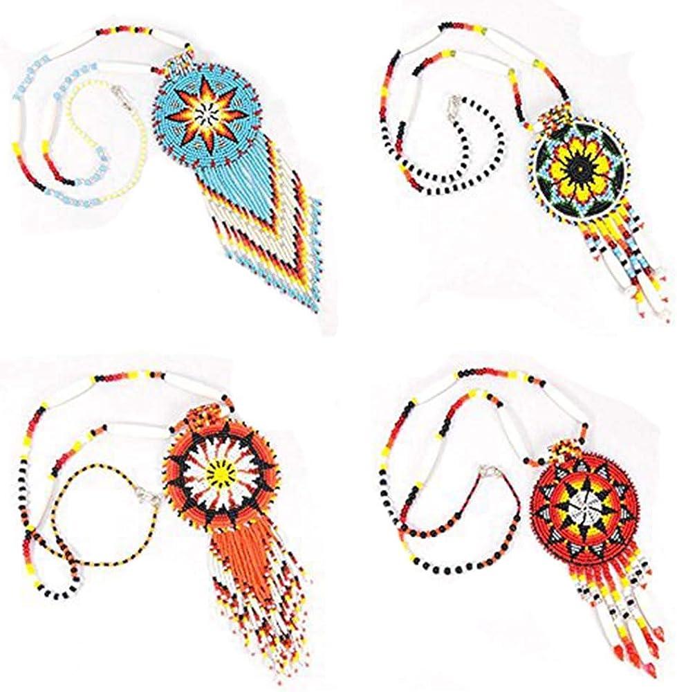 medalion tassle fantasywomens necklaceswomens giftsmixed mediahandmade jewelrybeaded jewelrypendant necklace