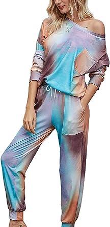 Conjunto de Pijamas para Mujeres Pijamas de Invierno para Mujeres Pijamas Finas de Dibujos Animados Pijamas Impresas Mujeres de Manga Larga Ropa de ...