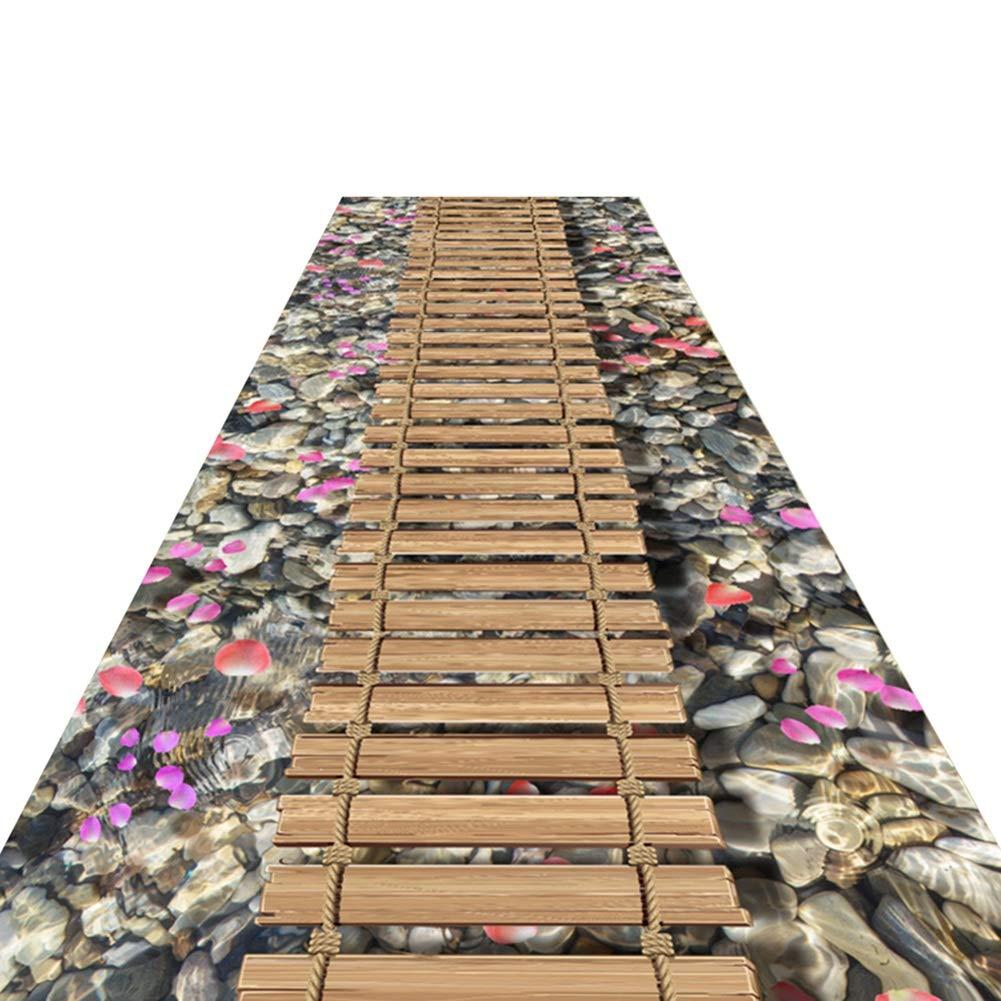 HAIPENG 廊下のカーペット 廊下 ランナー 入り口 ラグ 滑り止め エリアラグ 正面玄関 マット と ラバーバック カーペット カッタブル 洗える フォーマル (色 : A, サイズ さいず : 1.6x7m) 1.6x7m A B07MT8V42Q