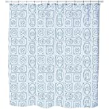Uneekee Picture Frames Shower Curtain: Large Waterproof Luxurious Bathroom Design Woven Fabric
